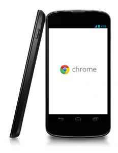 Chromeブラウザ